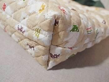キルトで作るバッグ マチ付き