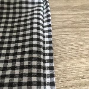 袋縫い 裏から見たところ